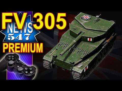 FV 305 artyleria premium 8 poziom - NEWS - World of Tanks