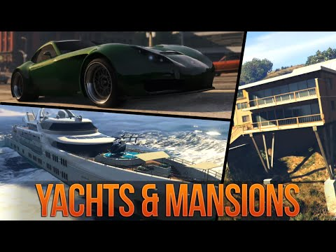 GTA 5 Online NEW Executives DLC Trailer Breakdown: MANSIONS, YACHTS & APARTMENT CUSTOMIZATION!