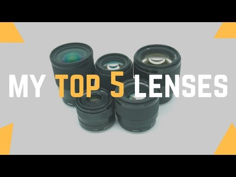 My Top 5 Favorite Sony A6000 Lenses