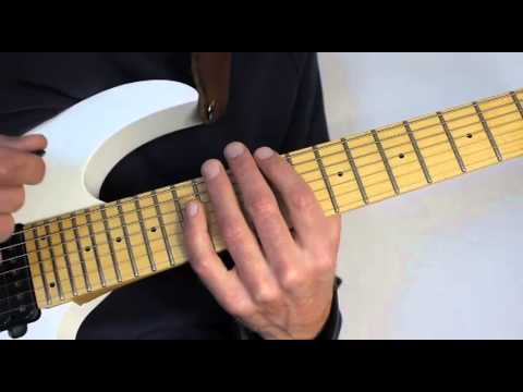 How To Master The Sweep Picking Tapping Technique - shred guitar lessons quantum leap