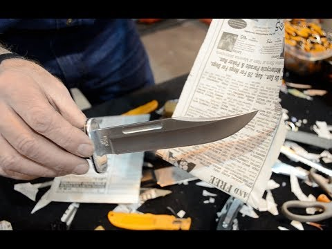 Sharpest Knife in the World!