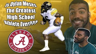 This Kid Has Had Offers From Alabama and LSU Since 8th Grade!!!! Dylan Moses Highlights [Reaction]