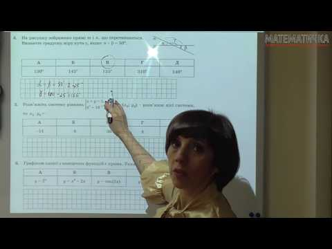 ЗНО Математика 2016 Розв'язок задач