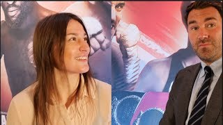 'THEY WERENT HAPPY WITH ME' -EDDIE HEARN & KATIE TAYLOR ON 1-WAY REMATCH, SERRANO WIN, WANTS PERSOON