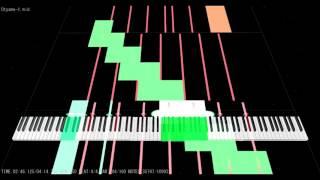 [Black MIDI] MIDITrail - Lamaze-P - Fukkireta (吹っ切れた) ~110K Notes | NO LAG