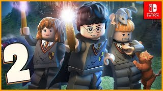 Lego Harry Potter Collection Walkthrough Part 2 Out of the Dungeon (Nintendo Switch)