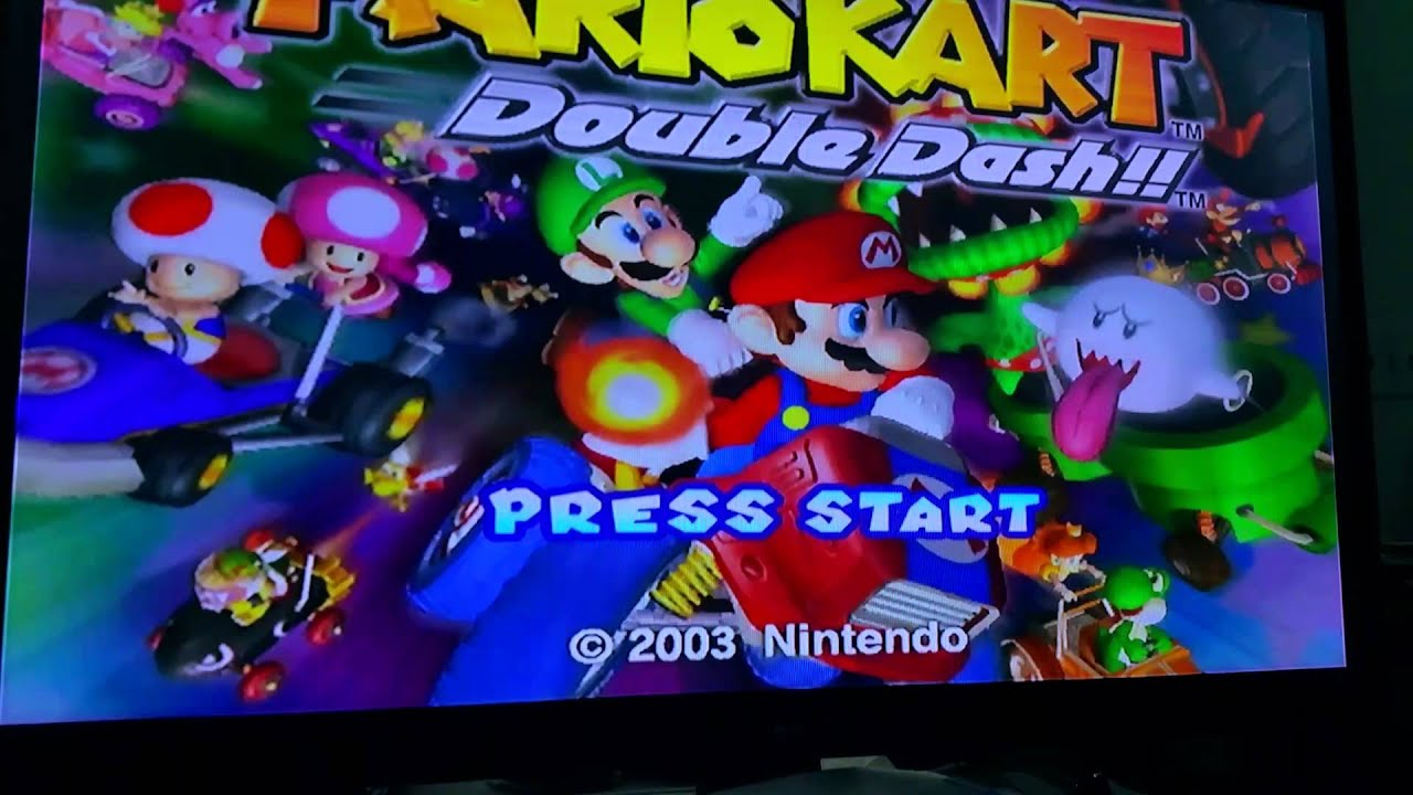Ebay Auction Mario Kart Double Dash Gamecube Test Dimraeey