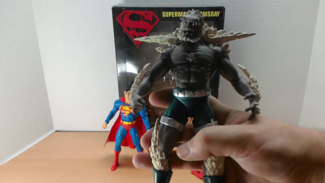 Superman Doomsday Dc Direct 2 Pack Figures Review Youtube