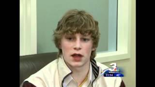 Local boy who stutters wins speech contest