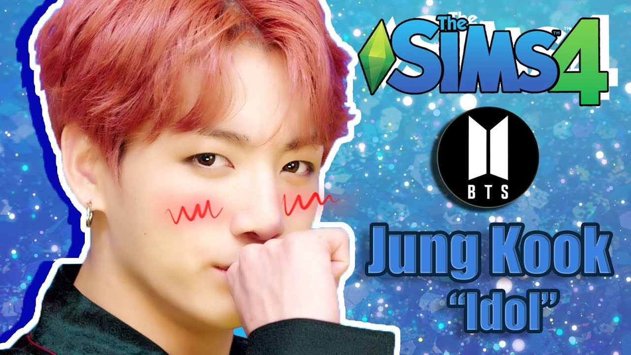 [The Sims 4] JungKook BTS ''Idol'' Edition ❤ (+CC links download)