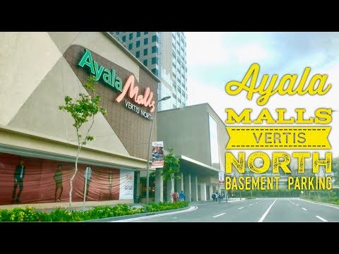 Ayala Malls Vertis North Basement Parking Quezon City by HourPhilippines.com