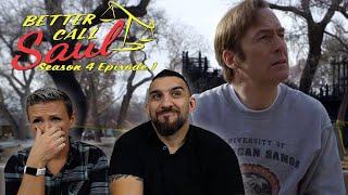 Better Call Saul Season 4 Episode 1 'Smoke' Premiere REACTION!!