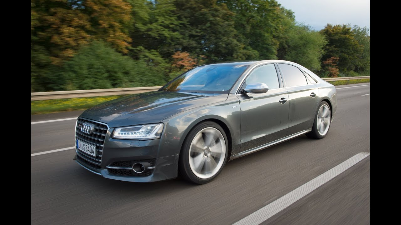 2015 audi a8 l w12 luxury test drive on highway youtube. Black Bedroom Furniture Sets. Home Design Ideas