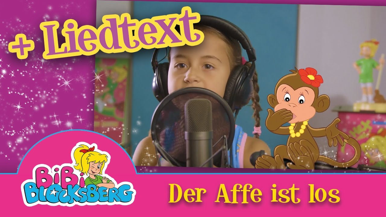CUTE BABY MILEY- Der Affe ist los Video mit Liedtext ...