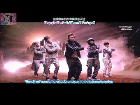 EXO-M - HISTORY MV New Ver.[Sub Español+Karaoke+Pinyin]  SM.ART EXHIBITION