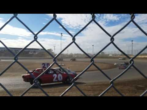 10-1-17 LaSalle IL speedway Day of Destruct 200 lap Enduro race after the timing belt broke on AK47.