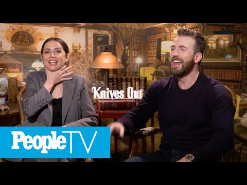 Chris Evans Kept 'All The Sweaters' From 'Knives Out' — What Else The Cast Is Guilty Of | PeopleTV