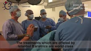 An Ukrainian surgical team visiting İstanbul Bariatrics