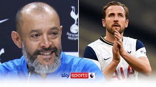 """""""It's great news for everybody""""   Nuno Espírito Santo's reaction to Harry Kane staying at Spurs"""