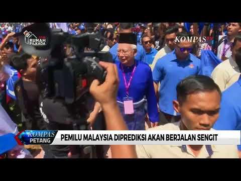 Pemilu Malaysia Diprediksi Akan Berjalan Sengit