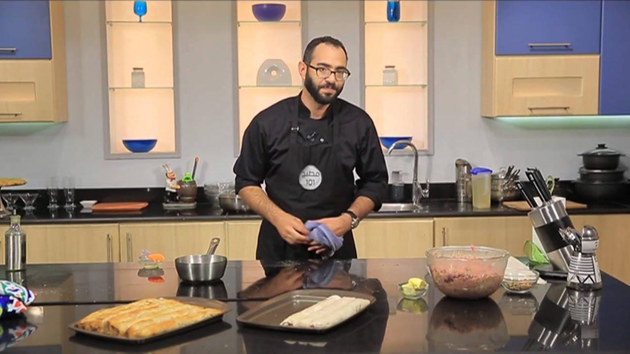 كفتة دار الضيافه - كنافة بالفستق وماء الورد : مطبخ 101 حلقة كاملة