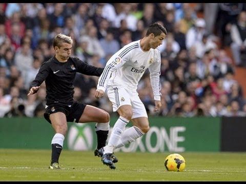 """2013/11/10 ผลฟุตบอล ลา ลีกา สเปน 2013/2014/""""โด้"""" แฮตทริก ชุดขาวต้อนโซเซียดัด 5-1"""