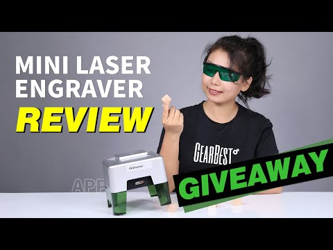 REVIEW: Alfawise C50 Mini Laser Engraving Machine | GIVEAWAY