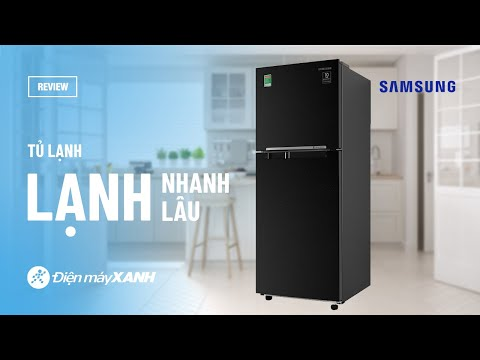 Tủ lạnh Samsung 208L: giữ lạnh lâu, làm lạnh đều (RT20HAR8DBU/SV) • Điện máy XANH