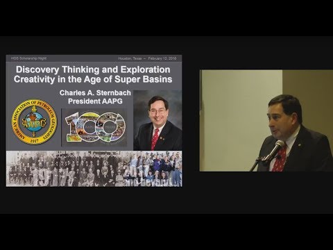Charles Sternbach-Discovery Thinking in the Age of Super Basins