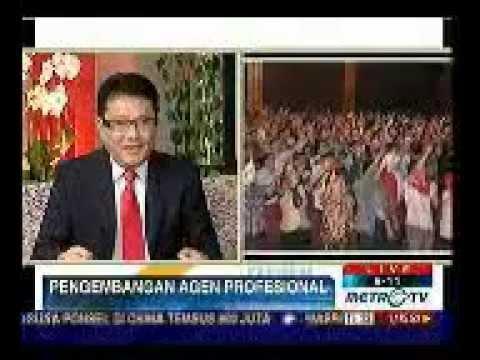 Agen Asuransi Profesional , Bp Rinaldi Mudahar - Prudential @MetroTV 5 Maret 2012