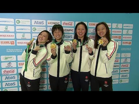 Hong Kong's swimming team breaks Asian Games record - sport