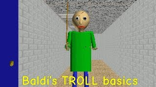 Baldi's TROLL basics if you beat this your pro (First attempt)
