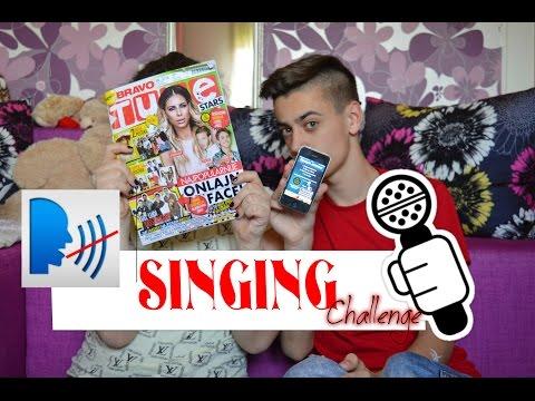 SINGING CHALLENGE With Speech Jammer I BRAVOTUBE