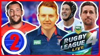 KNIGHTS VS PANTHERS (ROUND 2) | RUGBY LEAGUE LIVE 4 2019 NEWCASTLE KNIGHTS CAREER MODE