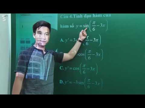 Tính Đạo Hàm bằng Máy tính Cầm Tay Casio Vinacal – Thầy Nguyễn Quốc Chí