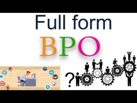 BPO .ka full form? - YouTube