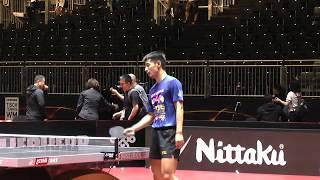 WTTC-2017. Part 2. China team. Warm up