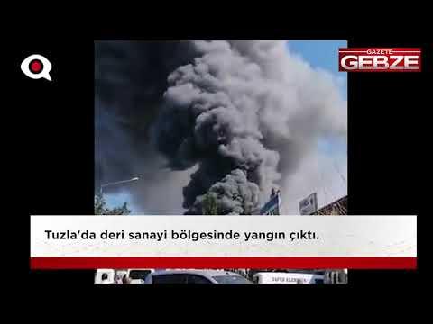 Tuzla'da büyük yangın!