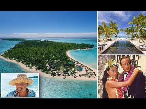 Marlon Brando S Private Island Resort