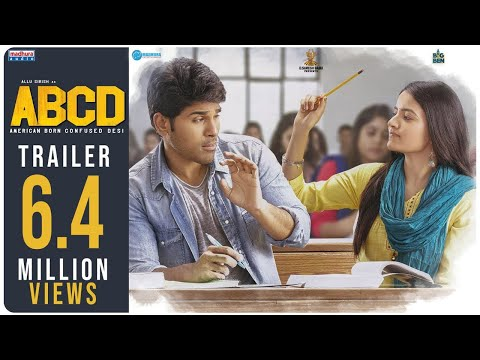 ABCD - American Born Confused Desi Theatrical Trailer   Allu Sirish   Rukshar   #ABCDTrailer   May17