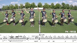 "2018 Blue Stars Snares - LEARN THE MUSIC to ""The Once and Future Carpenter"""