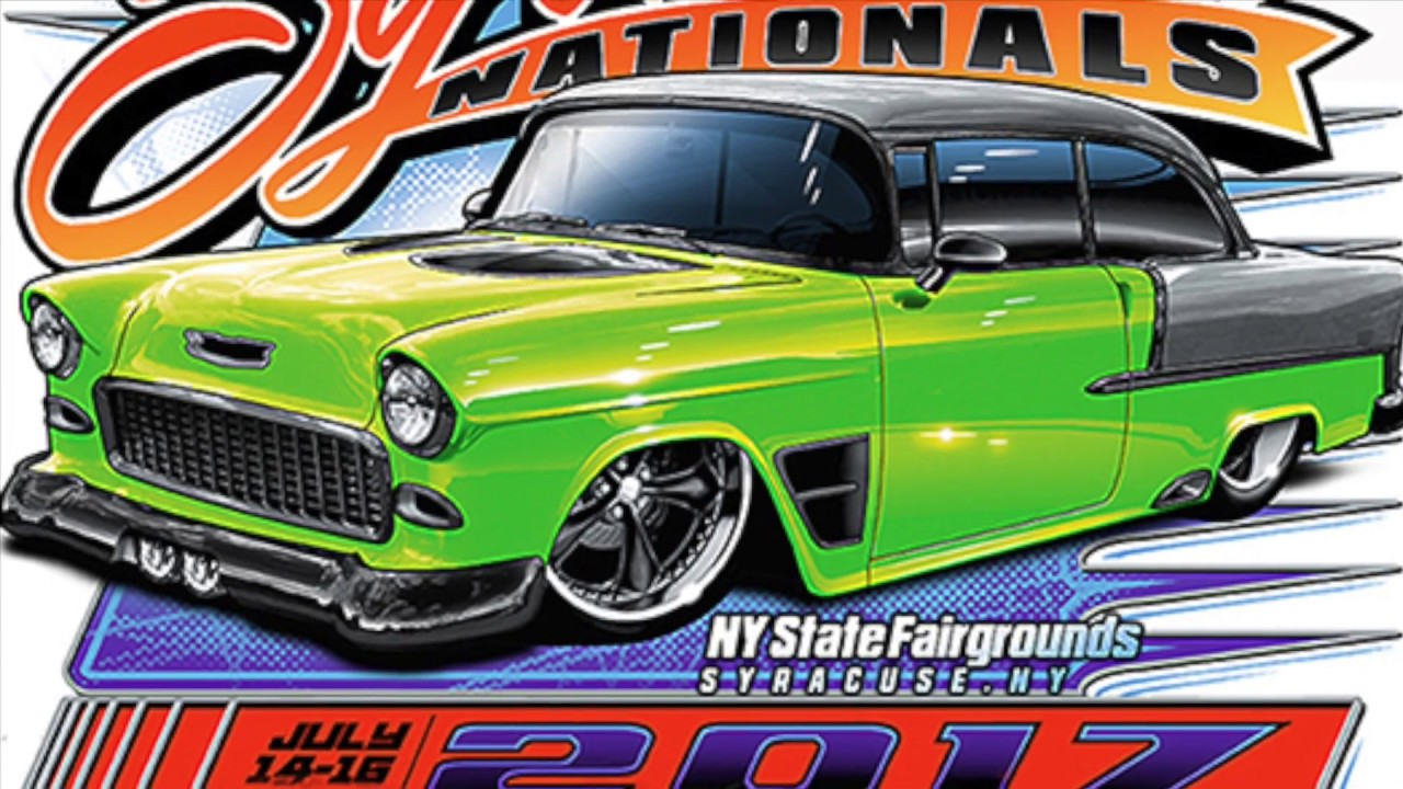 Syracuse Nationals Car Show: Syracuse Nationals 2017 Best Car Show Ever HD