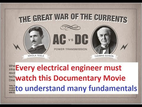 Origin of AC current Takeover.. | Every electrical Engineer