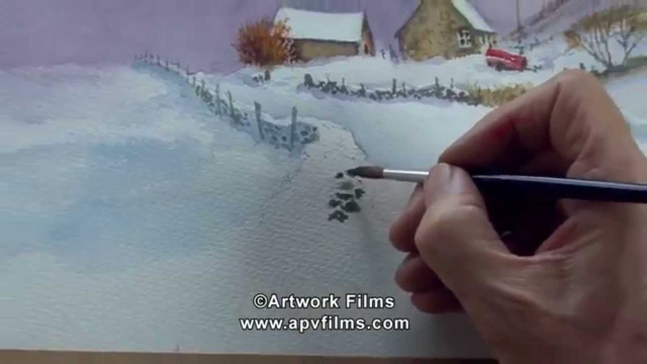 Winter Landscapes In Watercolour DVD By David Bellamy