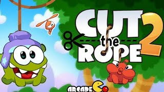 Cut the Rope 2 Walkthrough:  Sandy Dam Levels 1 - 5