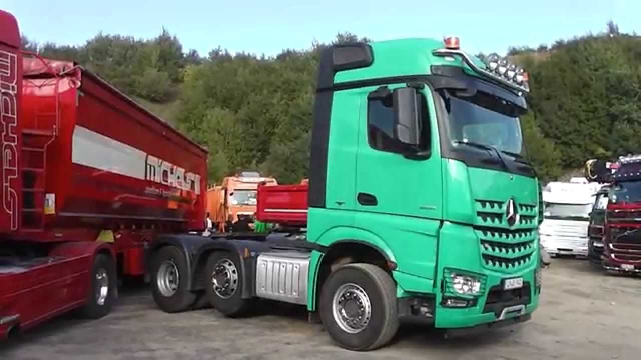Mercedes-Benz Arocs 2551 Semi-Trailer Truck - LKW in HD ...