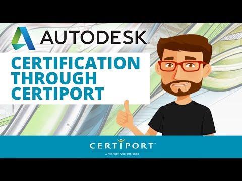 Autodesk Certifications :: Certiport
