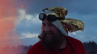 MASLENITSA 2018 BIG FIRE 🔥 МАСЛЕНИЦА 2018 НИКОЛА-ЛЕНИВЕЦ СЖИГАЮТ КОСТРИЩЕ