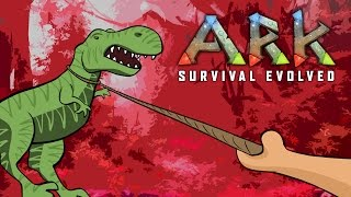 TIME TO TAME A T-REX ★ ARK: Survival Evolved (64)