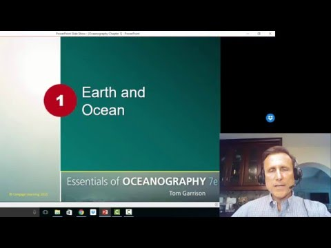 Oceanography Chapter 1